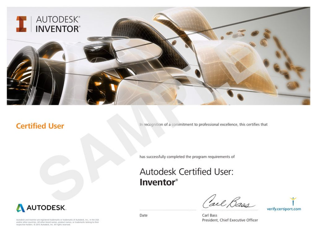 Autodesk certified professional certiport egypt 1betcityfo Choice Image